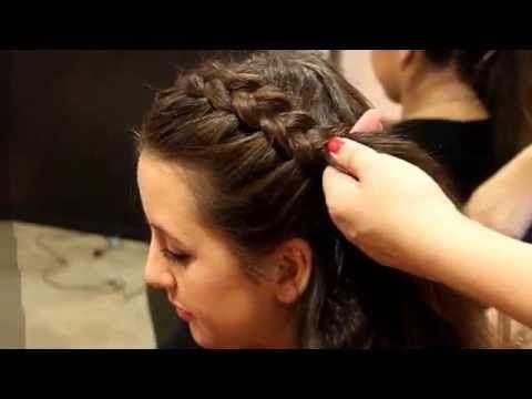 Luisa Hartema Gretchenzopf   Frisuren Freitag   Lovethecosmetics - YouTube