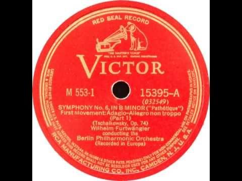 "Tchaikovsky Symphony No.6 ""Pathetique"" Wilhelm Furtwängler, Berliner Phi..."