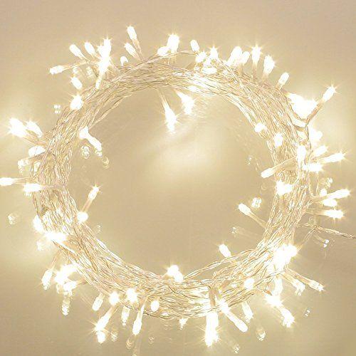 100er LED Lichterkette Batterie betrieben WarmWeiß Ideal für CHRISTMAS, Festlich, Hochzeiten, Geburtstag, PARTY, NEW YEAR Dekoration, HÄUSER ETC Koopower http://www.amazon.de/dp/B00MY20ZDE/ref=cm_sw_r_pi_dp_Phhmwb0Y3F46A