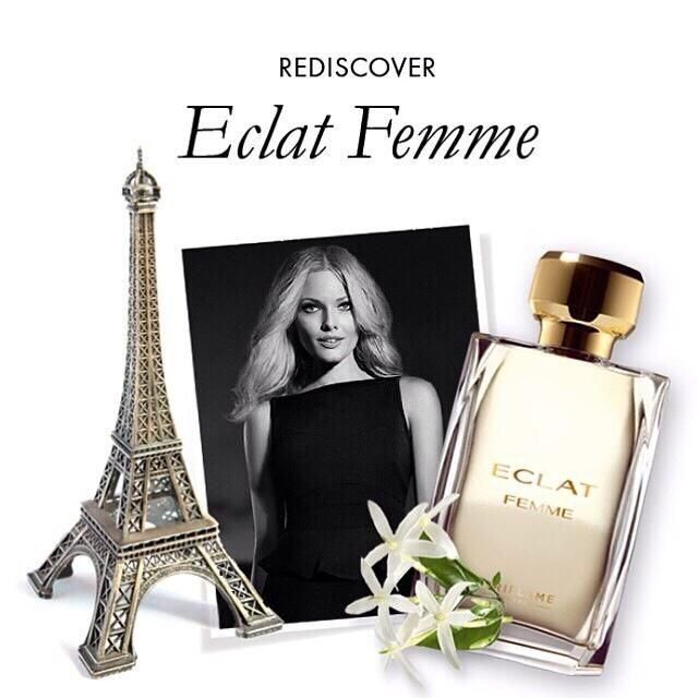 We can't stop thinking about the magnificent Eiffel Tower, the romantic Champs-Élysées, or the cosy neighborhood cafes. Inspired by the City of Light, our new Éclat Eau de Toilette transports you to sophisticated Paris, giving you that effortless style and elegant refinement of a true Parisian. Ask for a catalogue #Oriflame