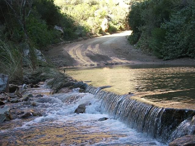 Eerste Water at the beginning of the Swartberg pass - Prins Albert only a couple of minutes drive from Karoo View Cottages