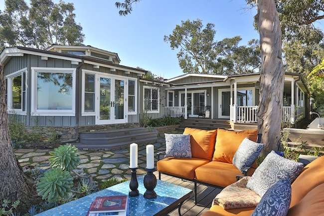 Mobile Home Living has a few of their best featured remodels featured on  Bobvilla.com.