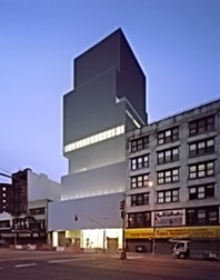 Kazuyo Sejima and Ryue Nishizawa  designed the new home of the New Museum of Contemporary Art on the Bowery in New York. Stacked, striking, and home to often arresting exhibitions.
