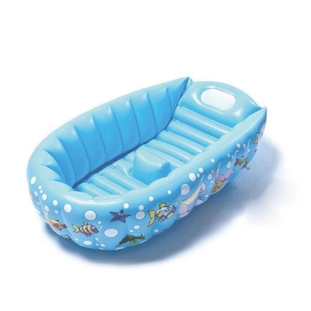Inflatable And Portable Baby Bath Tub Bathtub Decor
