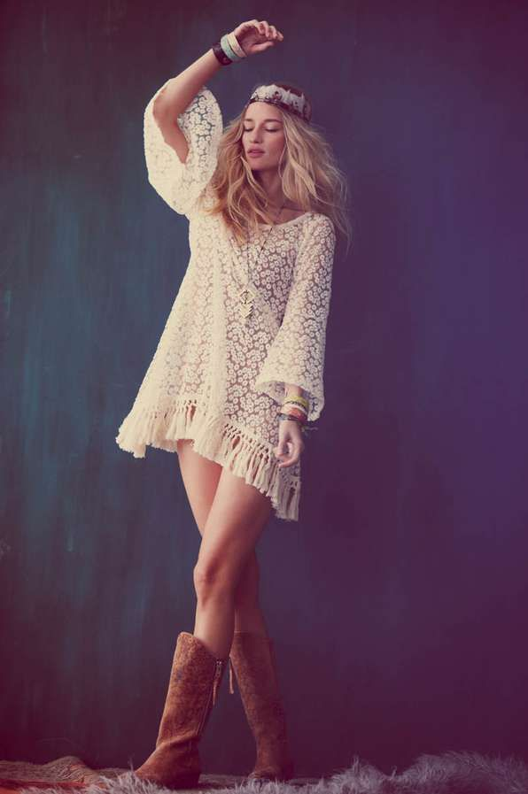 The Free People Festival 2012 Photoshoot Features Chic Looks #photoshoots #fashion trendhunter.com