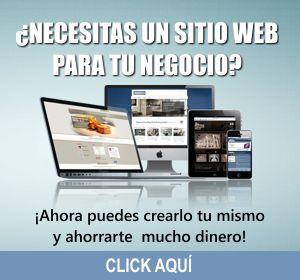 CONSTRUYE TU PROPIO SITIO WEB PROFESIONAL Y SIN DEPENDER DE UN DISEÑADOR NI PAGOS MENSUALES.