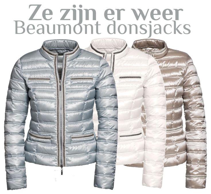 De populaire Beaumont donsjacks zijn weer binnen. Wees er snel bij want we verwachten weer een stormloop! Artikelnummer 019677.