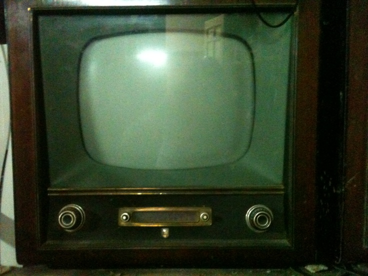 Uno de los primeros televisores que hubo en España