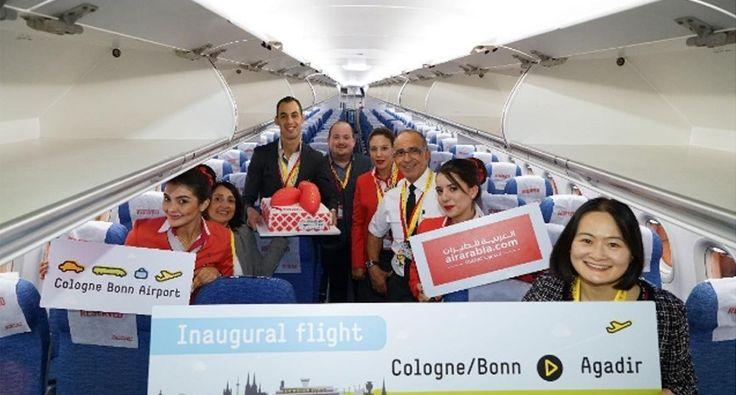 Air Arabia Maroc connects Cologne Bonn Airport to Agadir