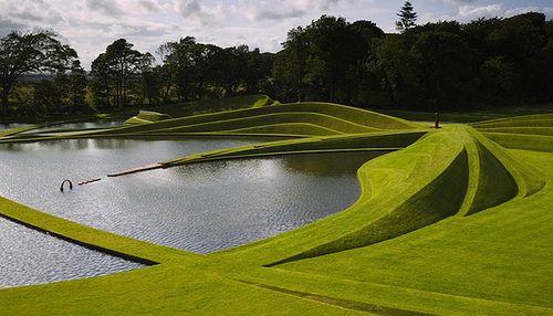 Beautiful Architecture of Landscape