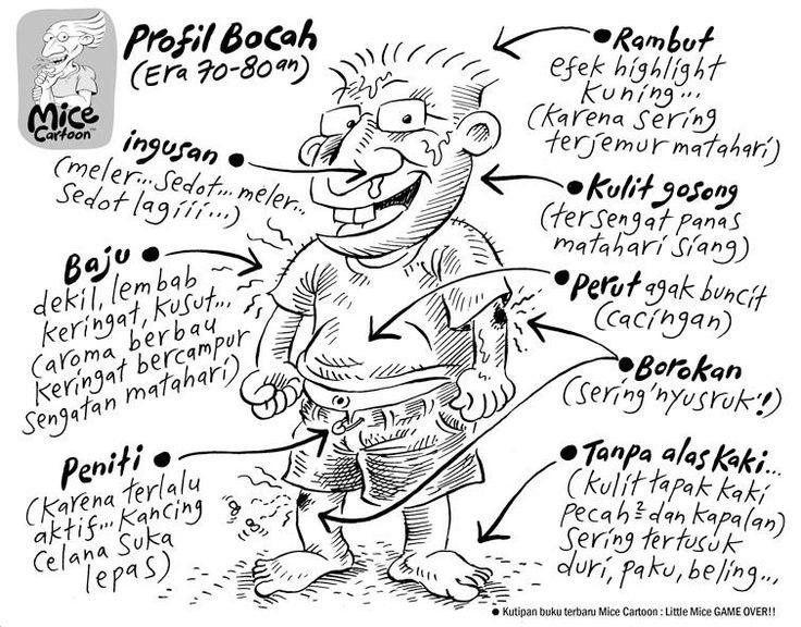 Mice Cartoon, Kompas - 15 Sep 2013: Profil Bocah Era 70-80an