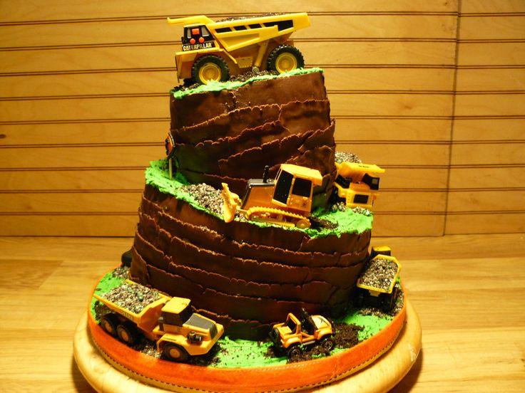 construction theme cakes   Construction Themed cake - by Missy @ CakesDecor.com - cake decorating ...