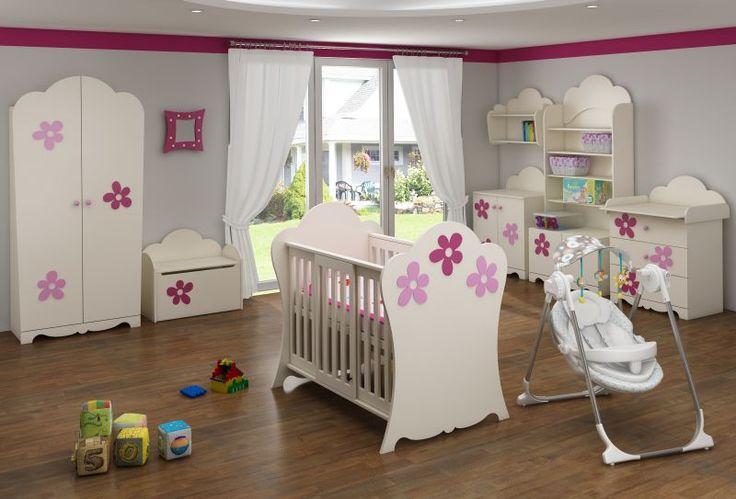 łóżeczko niemowlęce FLOWER BABY