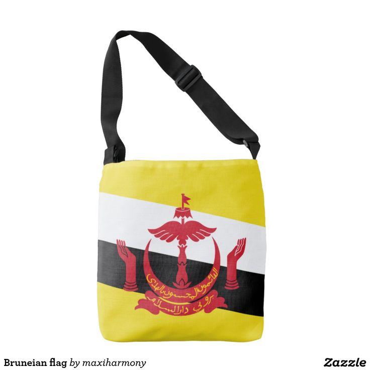 Bruneian flag tote bag