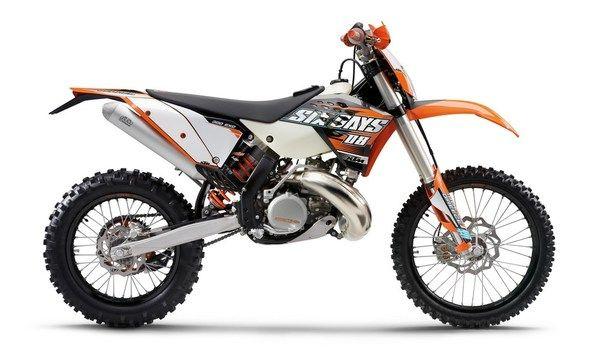 #ktm 300 exc sixdays 2009 #motorcycles