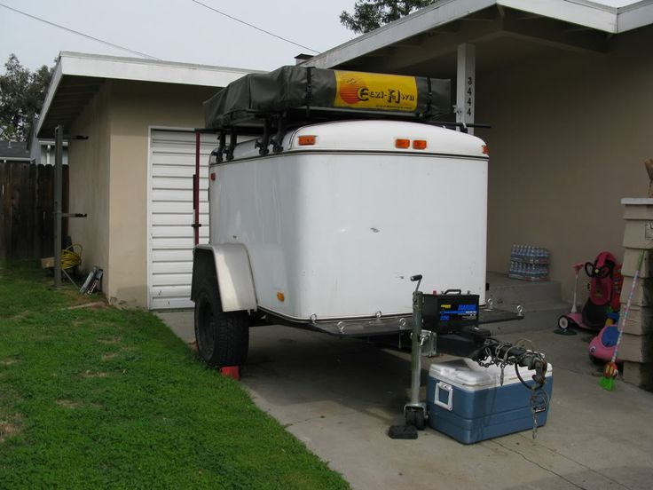 Enclosed Cargo Trailer for Offroad Use - Expedition Portal