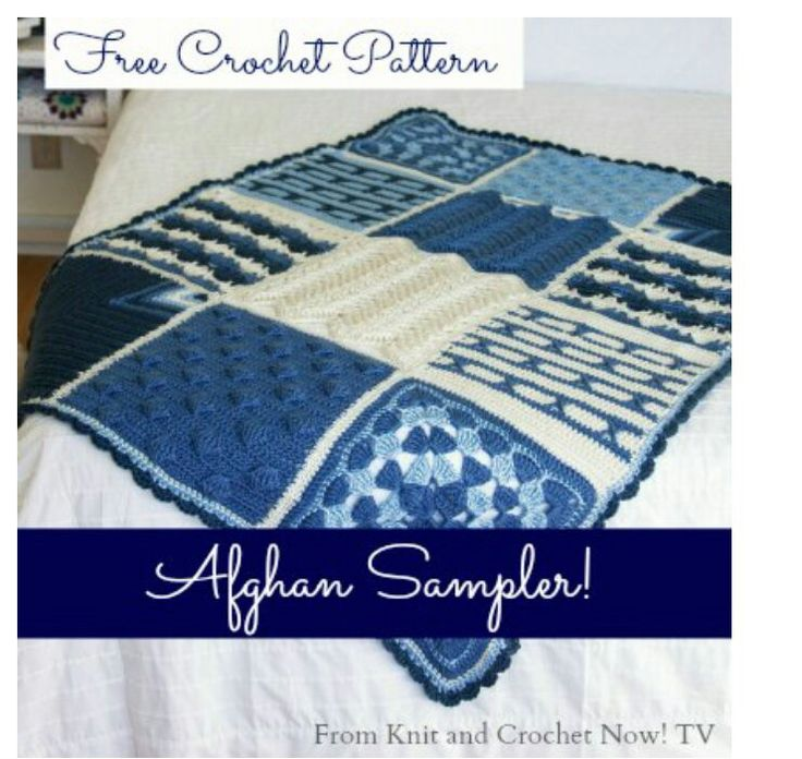 Hermosa Knit And Crochet Now Free Patterns Fotos - Manta de Tejer ...