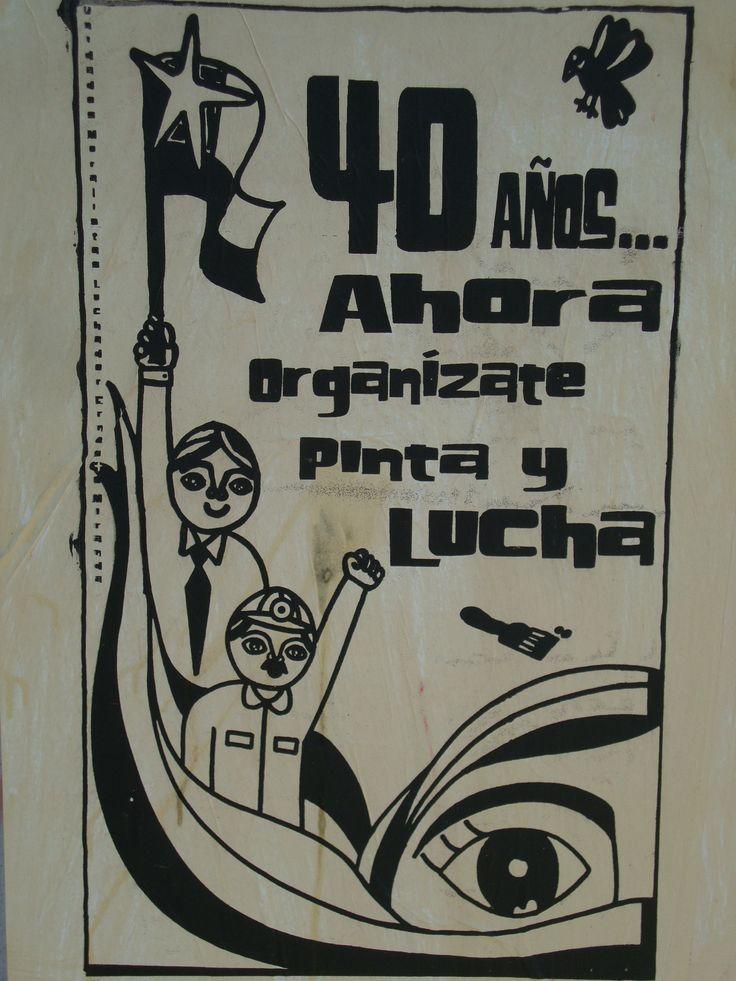 40 años ... Santiago de Chile, Romería al Cementerio General, 8 de sept. de 2013