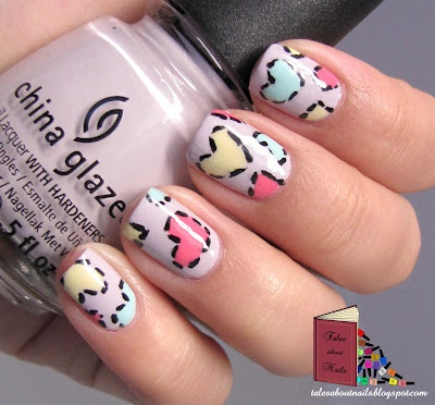 Tutorial: patch my heart | tales about nails