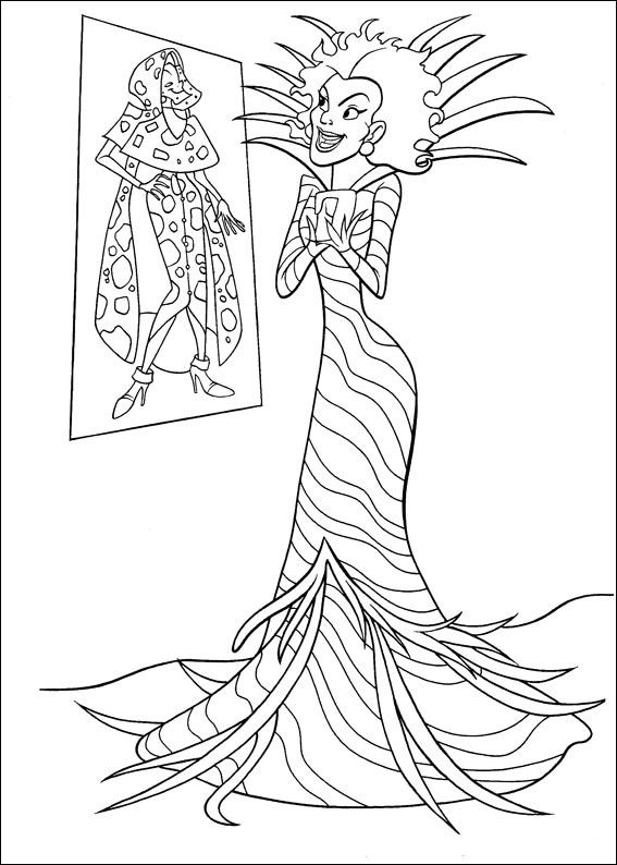 102 Dalmatians Coloring Page 13 Is A From BookLet Your Children Express Their Imagination When They Color The