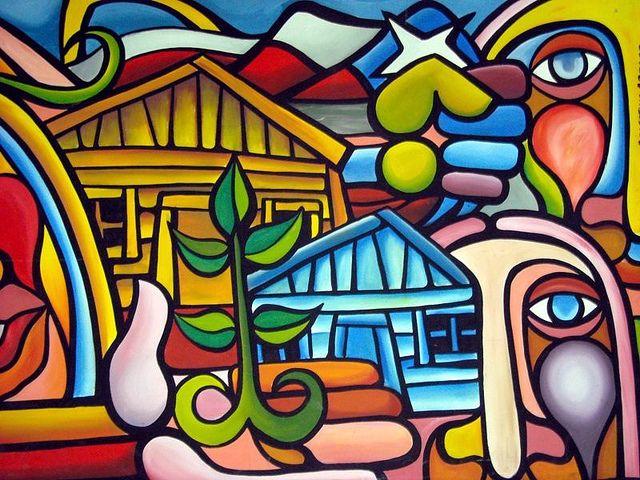 murales del norte argentino muy coloridos - Buscar con Google