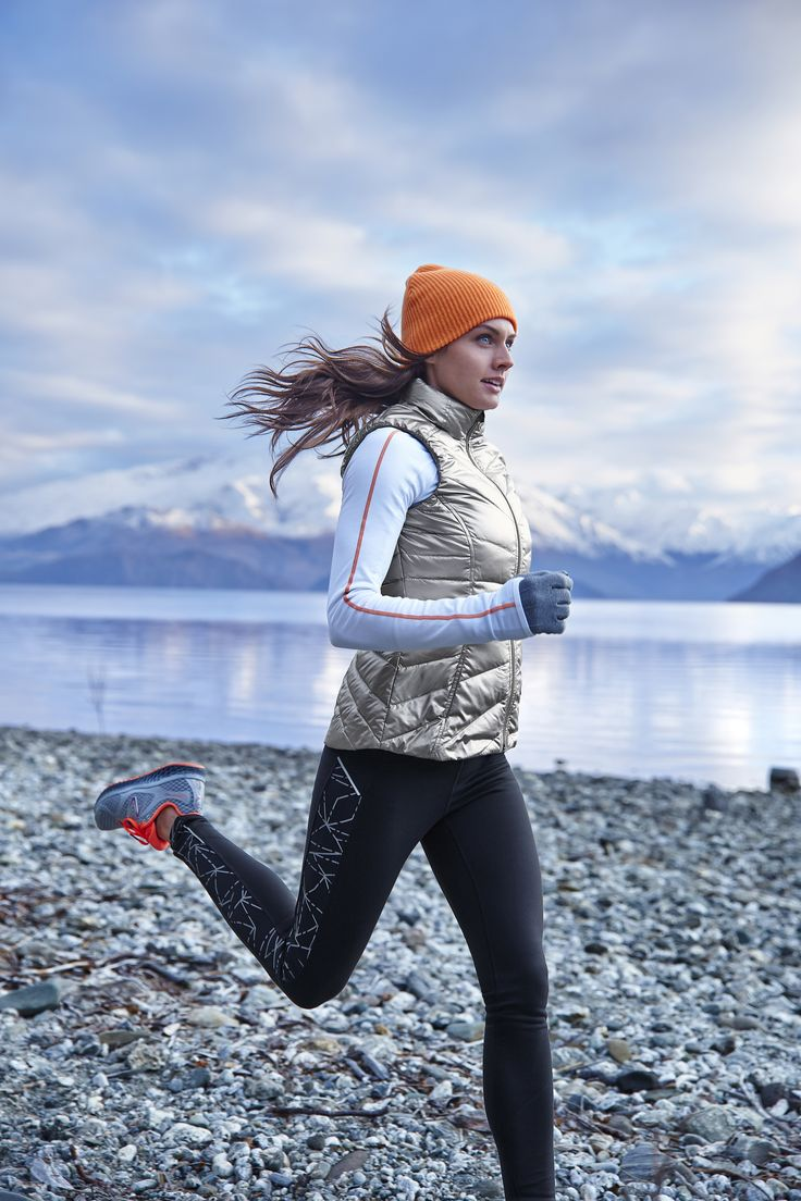 Winter running clothes for women