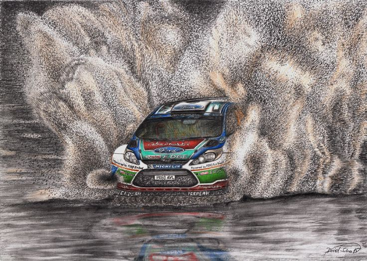 Ford Fiesta Rally.