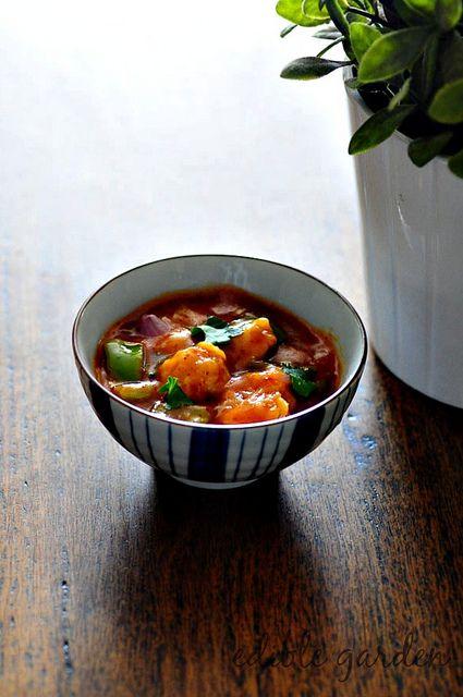gobi manchurian gravy recipe-gobi manchurian