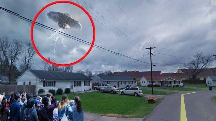 Spectacular UFO Sighting Caught On Tape Huge UFO Sightings 2017