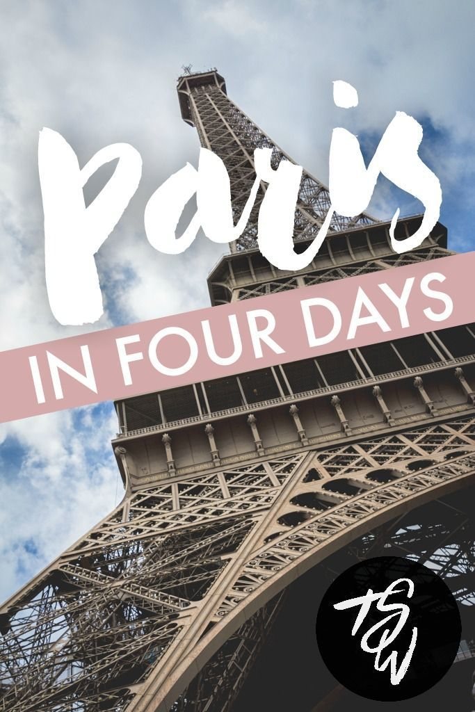 There is SO much to see in Paris.  If you have a limited time (4 days or less) these travel tips are the perfect place to start!!