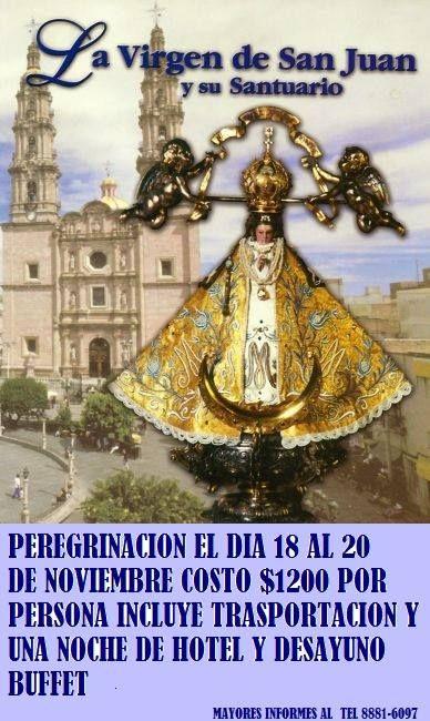 La parroquia Santísima Trinidad te invita.  Teléfono 8881 6097