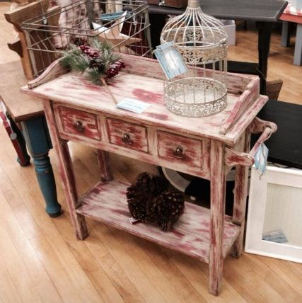 Pine Cabinet Painted With Van Gogh Fossil Paint Balsamic Lipstick U0026 Muse  And Then Sealed With