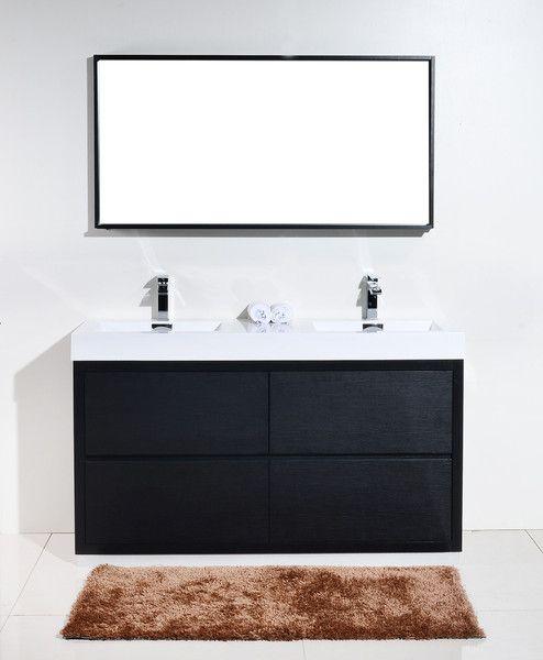 Modern Bathroom Vanities Sinks 159 best modern bathroom vanities images on pinterest | modern
