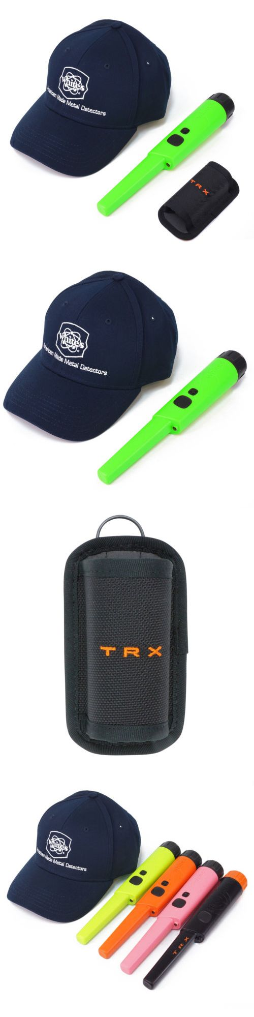 Metal Detectors: Whites Bullseye Trx Pinpointer Pin Pointer Green W Holster And White S Navy Hat -> BUY IT NOW ONLY: $149.95 on eBay!