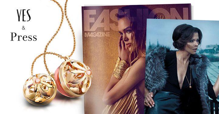Naszyjnik z naszej kolekcji ROSA dopełnił stylizacje przygotowaną dla FASHION Magazine przez Zosia Slotala.  | www.YES.pl/kolekcje/wszystko/rosa | #BizuteriaYES #YESandPRESS #press #photoshoot #photoshooting #model #models #FashionMagazine #fashion #fashionista
