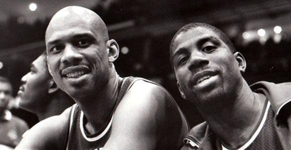 Kareem & Magic: Lakers Basketb, Los Lakers, Greatest Lakers, Magic Johnson, Lakers Legends, Kareem Abdul, The Games, La Lakersbasketb, Angel Lakers