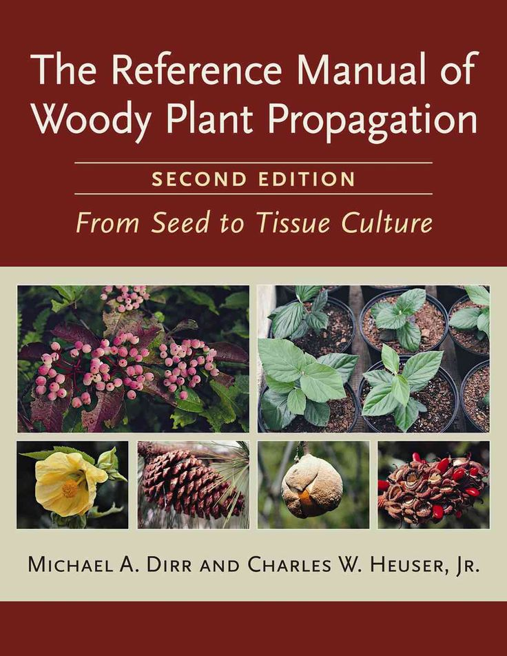 The Reference Manual of Woody Plant Propagation: From Seed to Tissue Culture