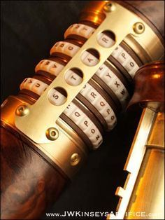 The Cryptex Triple: A Hand-made <b>Combination Lock</b> Box | сувенир ...