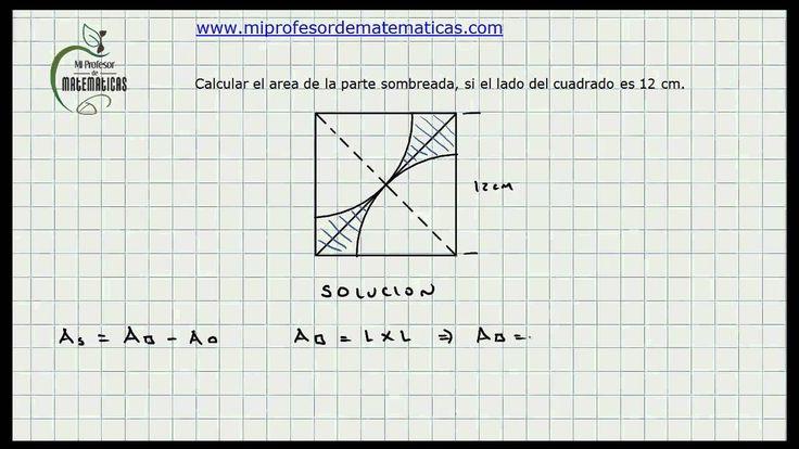 Ejercicio Calculo Áreas - Geometría - Mi Profesor de Matematicas ...