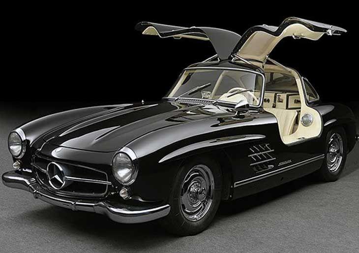 #MercedesBenz 300 SL. - Los autos de lujo más icónicos de todos los tiempos…