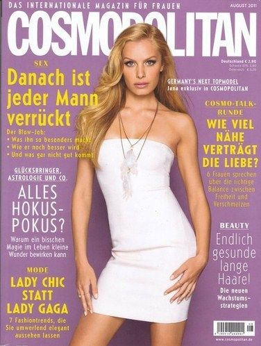 Germany next topmodel winner Janna beller 2011