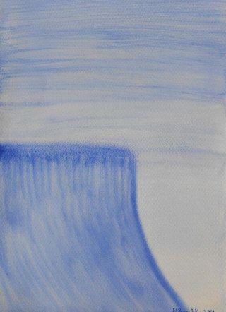 "Blue Wave 4"" x 6"" signed print  Art Card by Artist Natalee Parochka by NataleeParochka on Etsy"