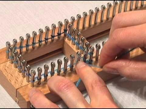 Loom Knitting Videos | Knitting Board