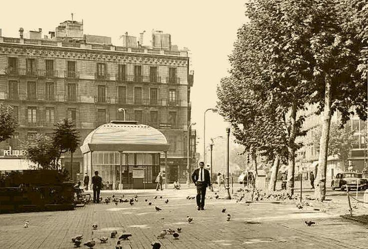 Plaça Urquinaona.1960