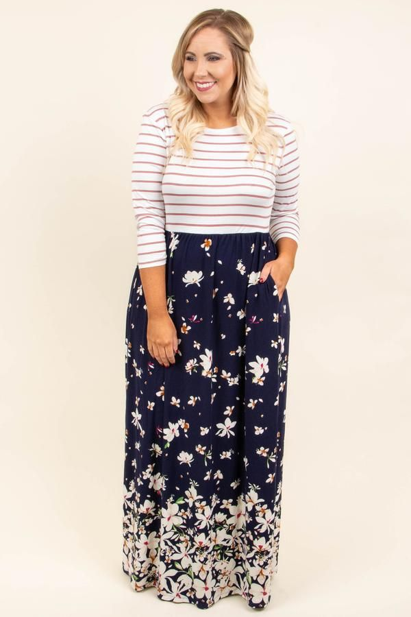 ba8d938343 Good Decisions Maxi Dress, Navy in 2019 | Make A Statement | Dresses,  Trendy outfits, Fashion