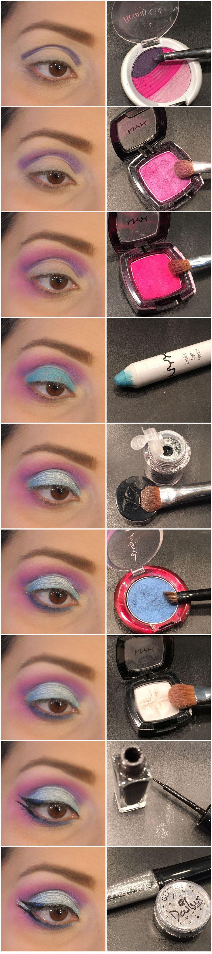 Maquiagem de Sexta – O que é muito glitter?