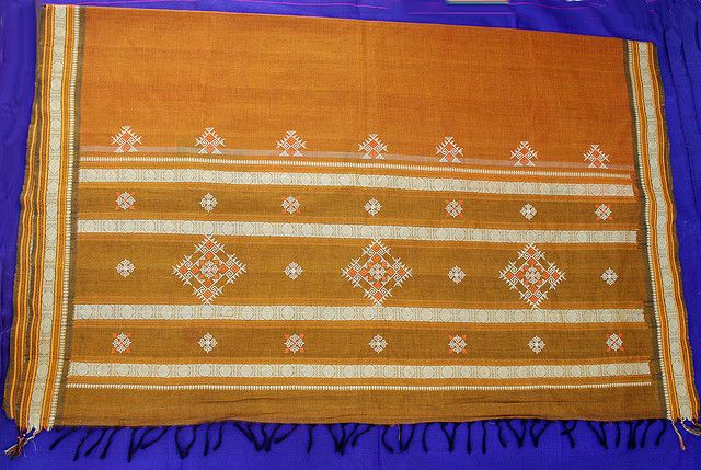 Kasuti embroidery on a Saree | Flickr - Photo Sharing!