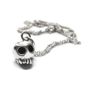 elaine ho Skull Necklace, $38, now featured on Fab.