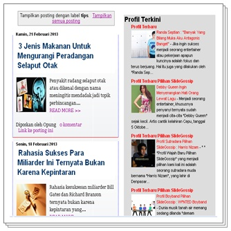 slidegossip.com Pusatnya Pencarian Profil Artis Model dan Talent