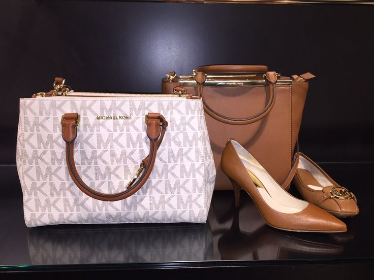 Michael Kors Bags, Shoes - Accessoires New SS15 Collection - white & brown #fashion #bags #maximilian_it #italy - available at maximilian.it